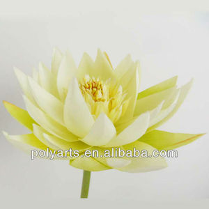 artificial flower,artificial water lily stem
