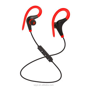 Waterproof In-Ear Headset Bluetooth v4.1 Universal Wireless Sports Jogging Ear Hook Stereo Earphone for iPhone iPad iPod Samsung
