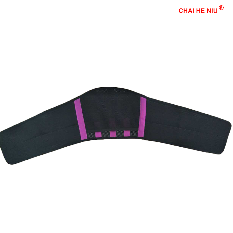 durable thermal heated/heating warmer comfortable massage lumbar support belt