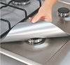 Non-stick Reusable gas hob protector; keep clean on top of stove set of 4pcs ; 27*27cm