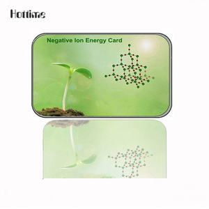 Human Health Negative Ion Energy Card