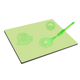 A4 Educational Magic Drawing Fluorescent Writing Board Kids Luminescent UV Pen Drawing Board DIY Early Education Drawing Board