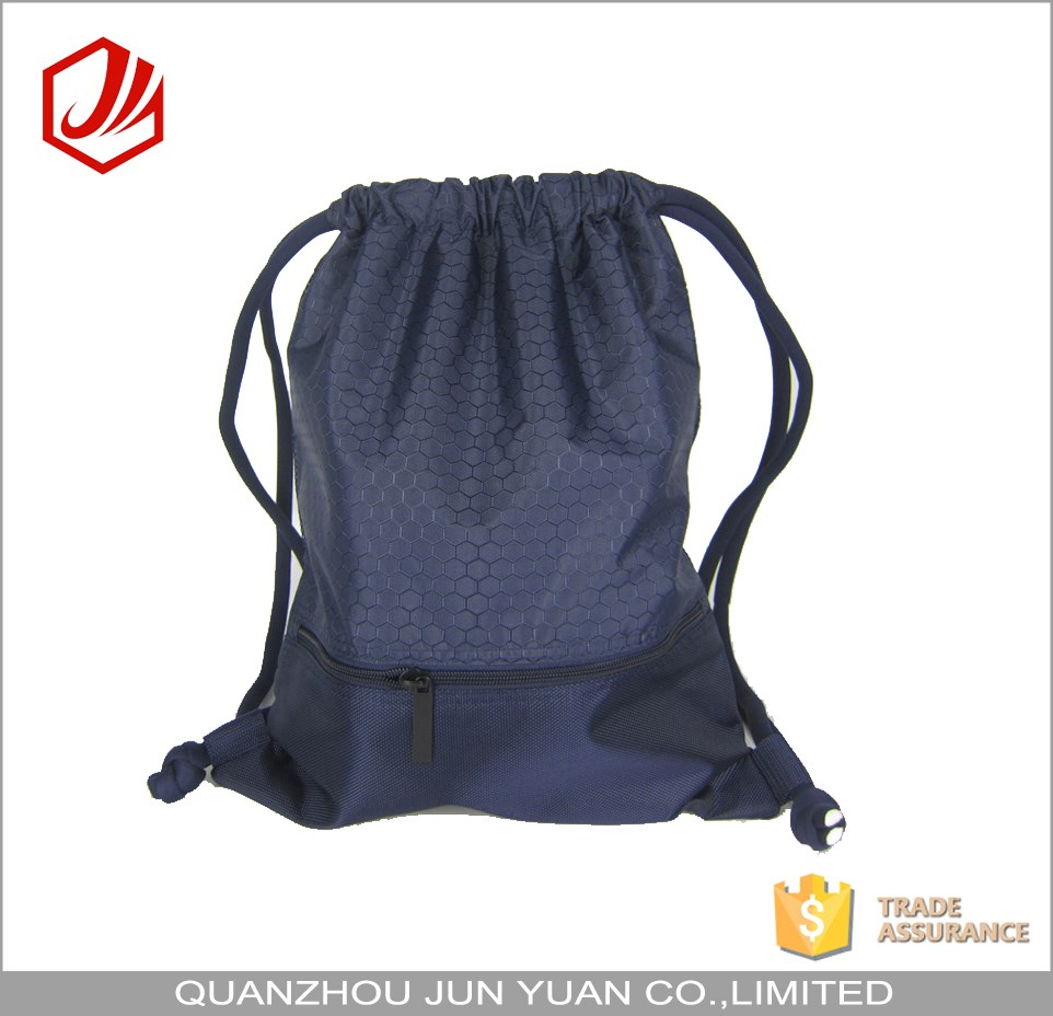 Wholesale best quality waterproof nylon drawstring bag backpack