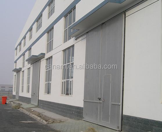 industry latest design vertical roller aluminium door