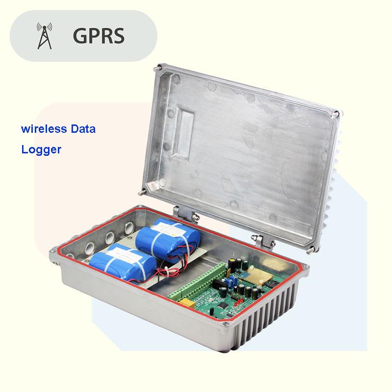 Faible Puissance GPRS Numérique système d'énergie solaire avec Enregistreur de Données sans fil