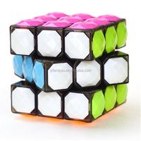 Yj3303 Yongjun Pvc Stickerless Hollow Molding Magic Cubes 3x3 Diy ...