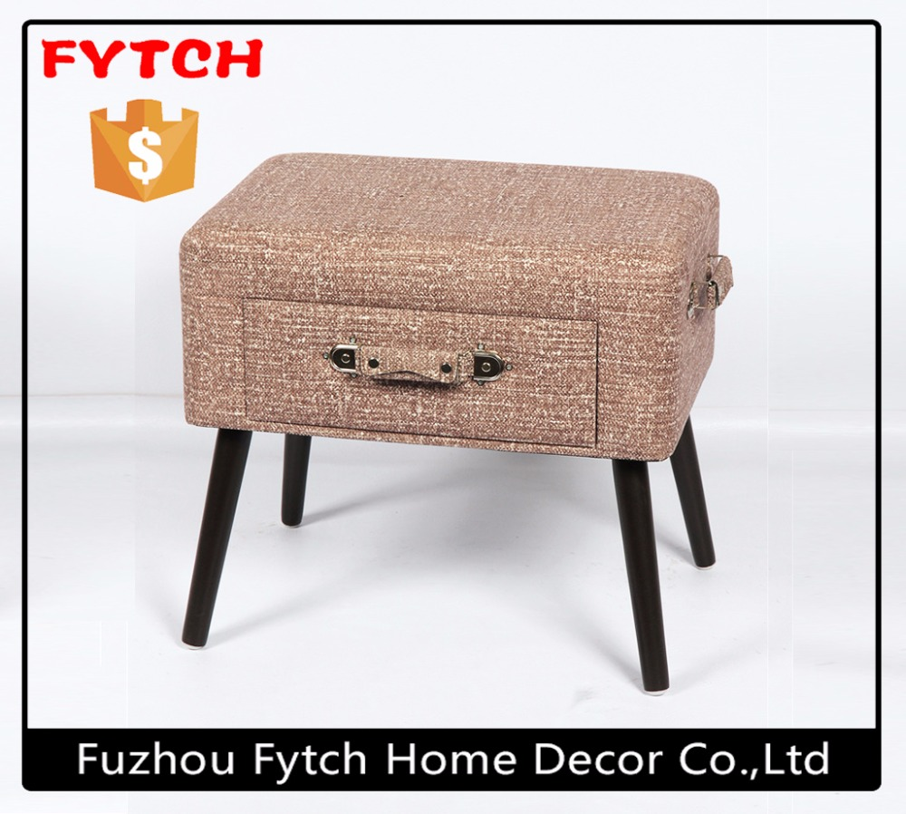 Fashion home furniture DIY vintage suitcase chair for sale