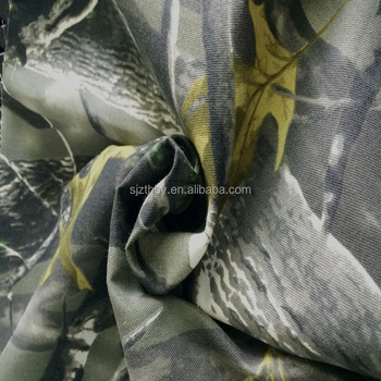 Polyester/Cotton realtree camo fabric