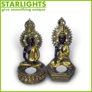 Novelties Wholesale China Resin Thailand Buddha Statue Standing Buddha