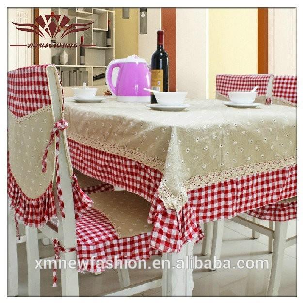Mantel de arpillera cubre la silla y mantel mantel para for Sillas para el hogar