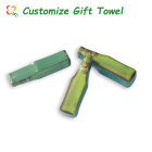 cheap logo promotional advertisement gift items compression towel