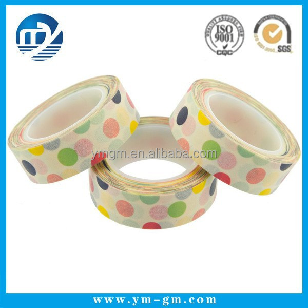 Custom printed masking tape for kid book product
