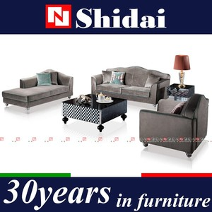 3pc Modern Micro suede Sofa and Love Seat Living Room Furniture Set - Grey