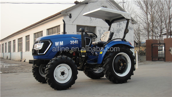 CE approved high quality 25hp 30hp 4wd mini farm tractor