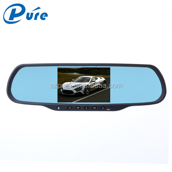 Newest 5.0 Inch Car DVR Dash Camera 1080 Dual Camera Black Box Car DVR Camera with Wifi/FM/Bluetooth Speaker