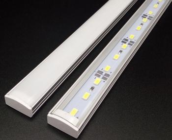 Aluminium Led Lighting Strip Extrusion Profile Holder For 5050 5630 5730 7020 Aluminum Rigid
