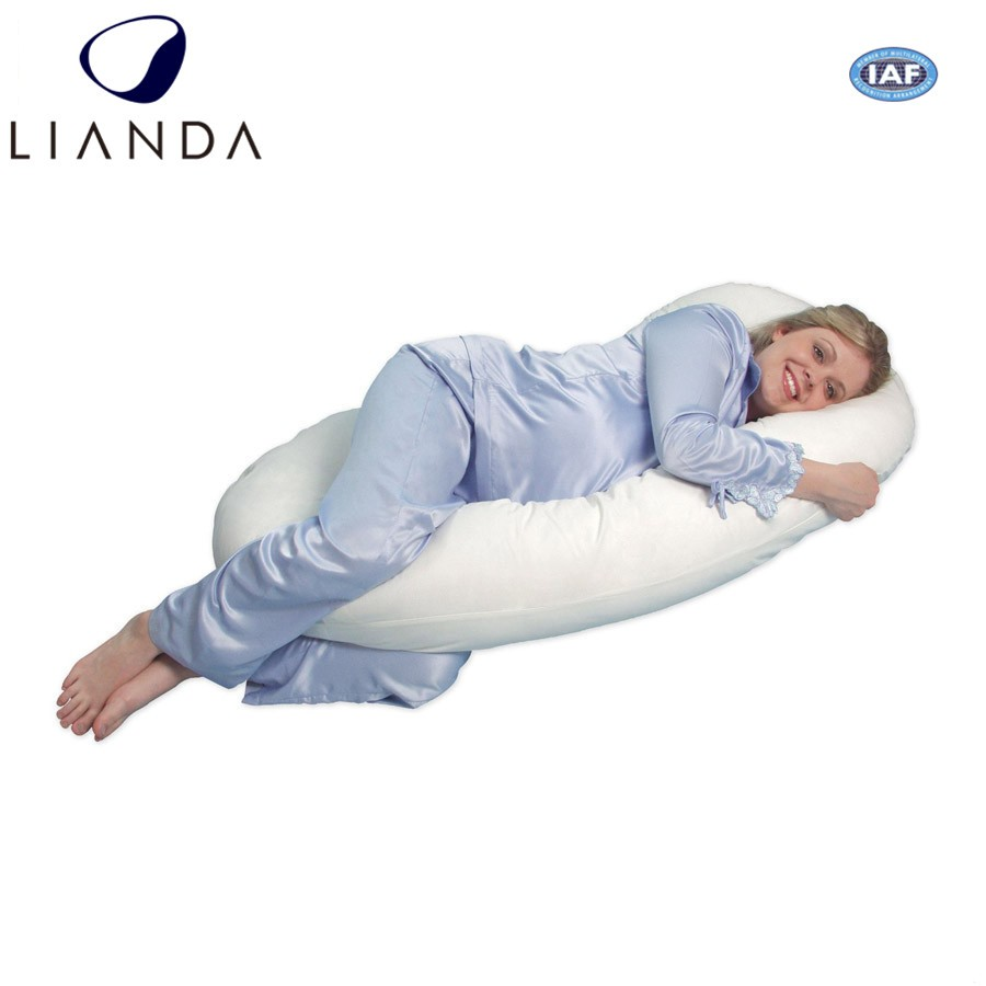 dsc filled body with x large case pillow maternity fibre full support