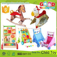 2017 New Arrival Unique Wooden Children Toy Wooden Baby Walker Educational Toys for Kids