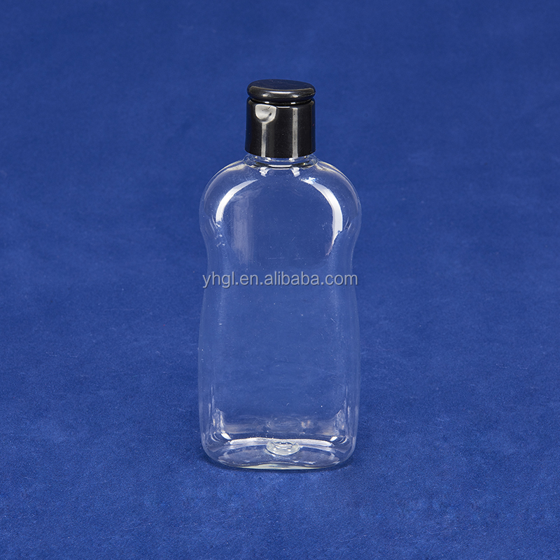 200ml clear plastic Bedtime Bubble Bath bottle and carry-on bottle