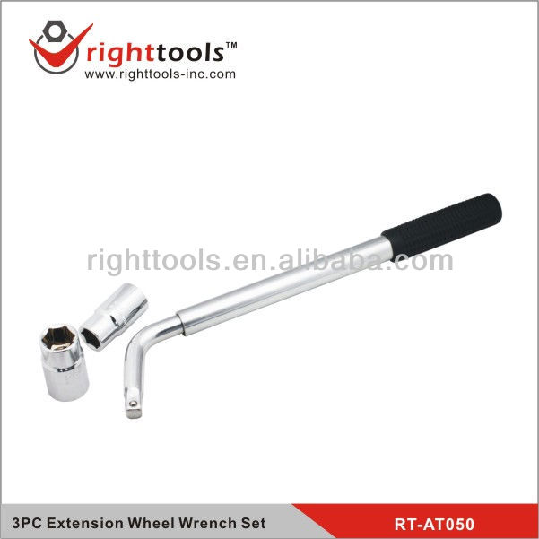 3PC Extension Wheel Wrench Set/Auto repair tools