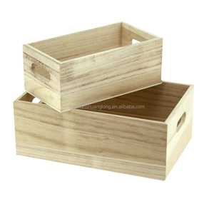 Caoxian county cheap wooden wine crates for sale