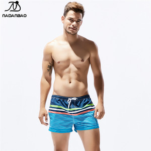 NADANBAO 2019 hot sale custom board shorts mens swim trunks high quality mens quick dry beach shorts