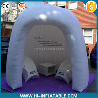 Hot selling inflatable tent for event, air blown inflatable dome tent for interior office