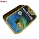 Tin Can Packaging Hot Sales Small Candy Rectangular Metal Tin Can Tinplate Sugus Can Packaging for Milk Candy