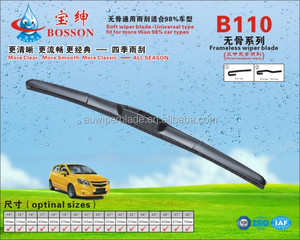 The most widely used the three section wiper
