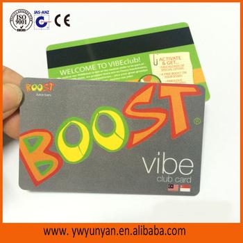 Free Design Free Sample Plastic Loyalty Card/ Pvc Gift Vip Card ...