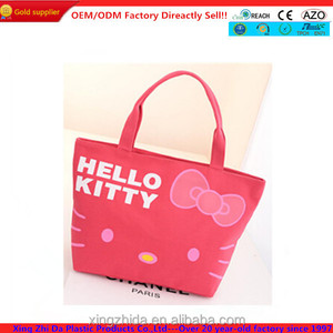 9d4a941bb Hello Kitty Tote Bag, Hello Kitty Tote Bag Suppliers and Manufacturers at  Alibaba.com
