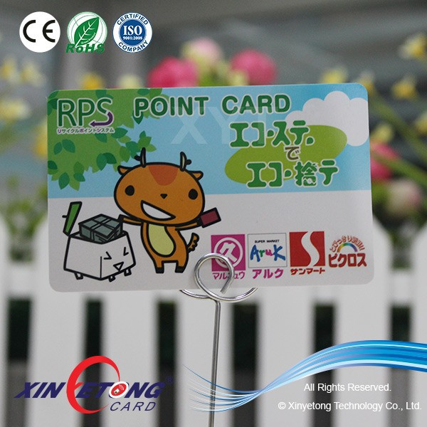 MF 1K S50 NFC Plastic Point Card/VIP Card for Shops and Supermarkets (China Manufacturer)