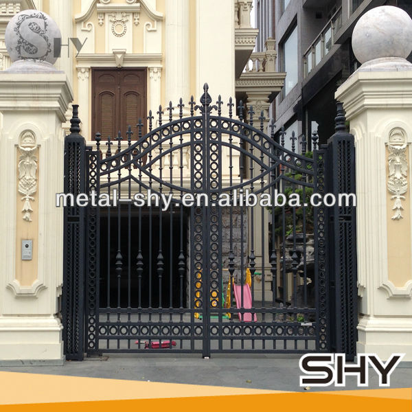 High Quality And Custom House Steel Main Gate Design Buy House