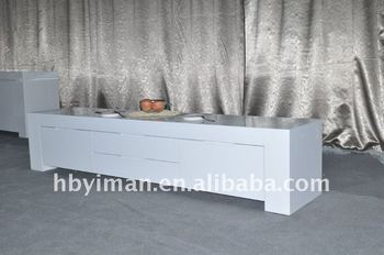 White High Gloss Furniture Buffet