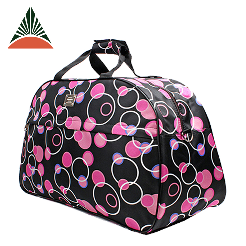 New Design Custom Wholesale Nylon Duffle Travel Bag For Girls Students