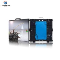 Slim Cabinet Outdoor P8 SMD 3535 /DIP LED Rental Screen/P10 Outdoor Rental LED Display