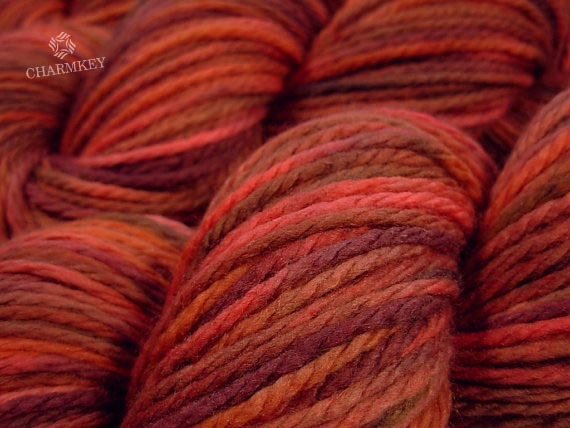 China Whole Hand Knitting Roving Wool Yarn