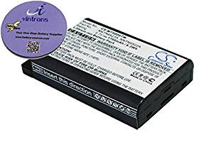 vintrons (TM) Bundle - 1700mAh Replacement Battery For MOTOROLA MTH650, MTH800, + vintrons Coaster