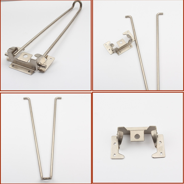 Kitchen Replacement Parts Folding Metal Table Legs For