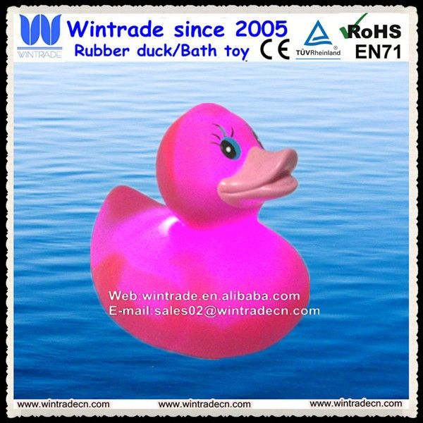 Magic led duck swim duck promo your products