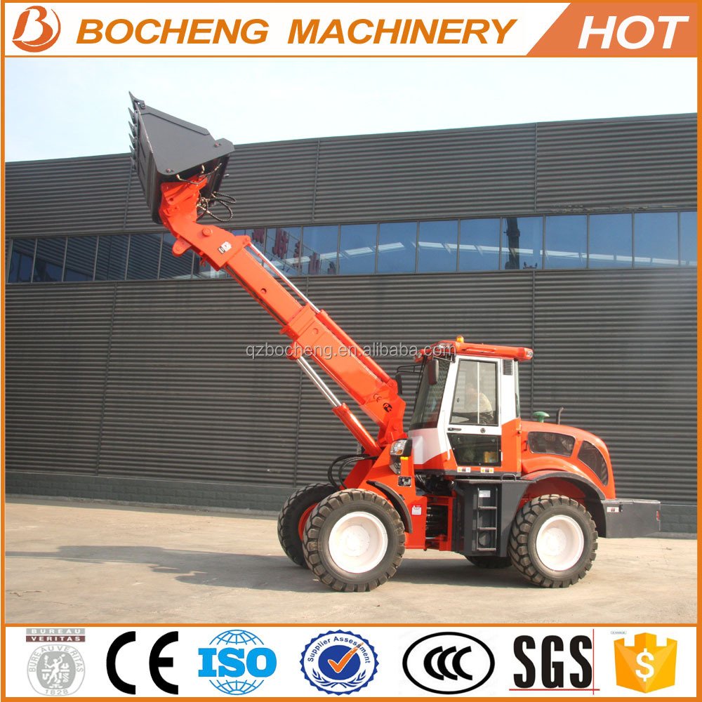 ZL30 China suppliers 3 ton 1.5cbm 115hp used telescopic loader price