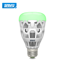 RGB High Quality Wifi Led Bulb Light Bulbs Remote Control Smart Lamp