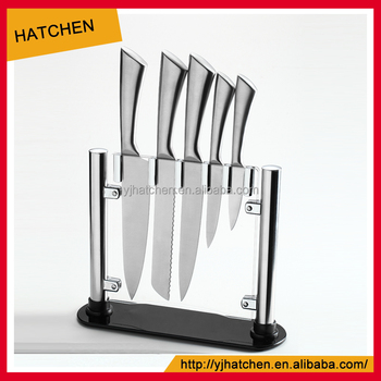 Bh02 A Stainless Steel 14pcs Hollow Handle Kitchen Knife Set From Hatchen Buy Hollow Handle Knife Kitchen Knives Set Knife Set Product On