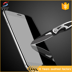 Anti shock tempered glass screen protector for apple for iphone 6,for apple 6 7 8 screen protectors
