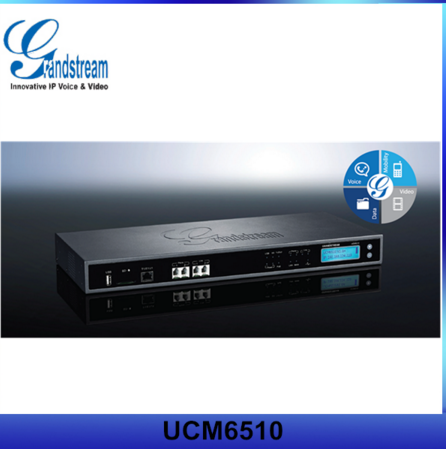 Grandstream ip pbx phone system UCM6510 T1/E1/J1 2 FXS FXO port telephone pbx
