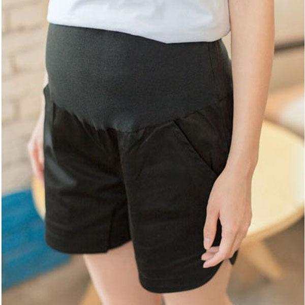 Лето женщины шорты беременным короткие штаны эластичный пояс для беременных шорты с живота группы свободного покроя одежда для беременных