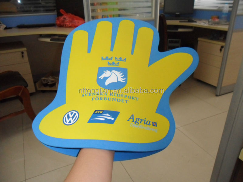custom foam finger wholesale / giant foam hand / cheer foam hand