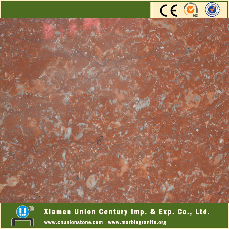 Royal rose red marble stone