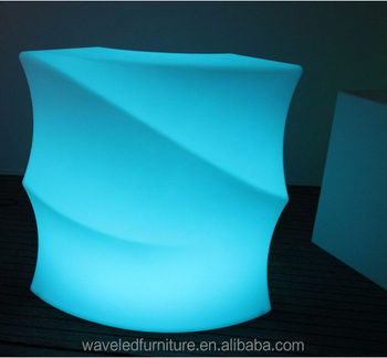 Led Bar Table Around The Corner Glowing Bat For