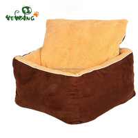 The creative design soft pet bed with different size dog bed